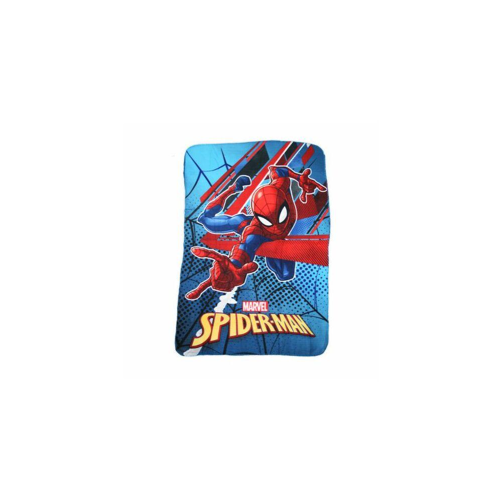 Pókember kisfiú polár takaró - 100 x 150 cm - kék-piros