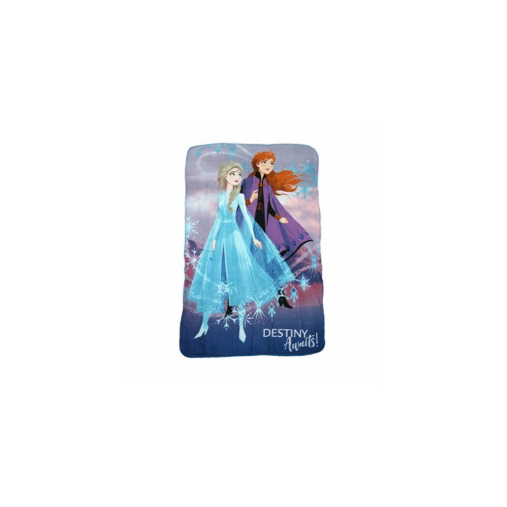 Jégvarázs kislány polár takaró - 100 x 150 cm - lila