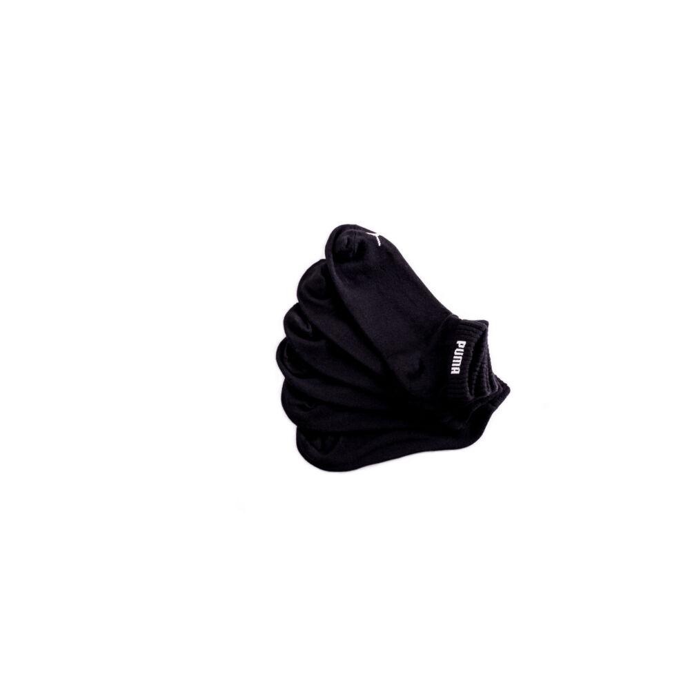Puma unisex pamut zokni - rövid állású zokni - 43-46 - fekete