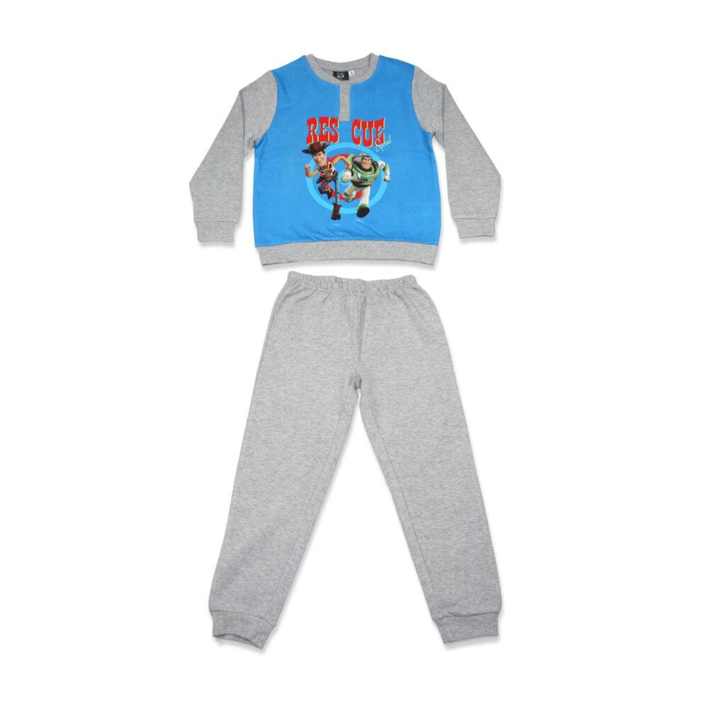 Téli flanel gyerek pizsama - Toy Story - szürke - 104