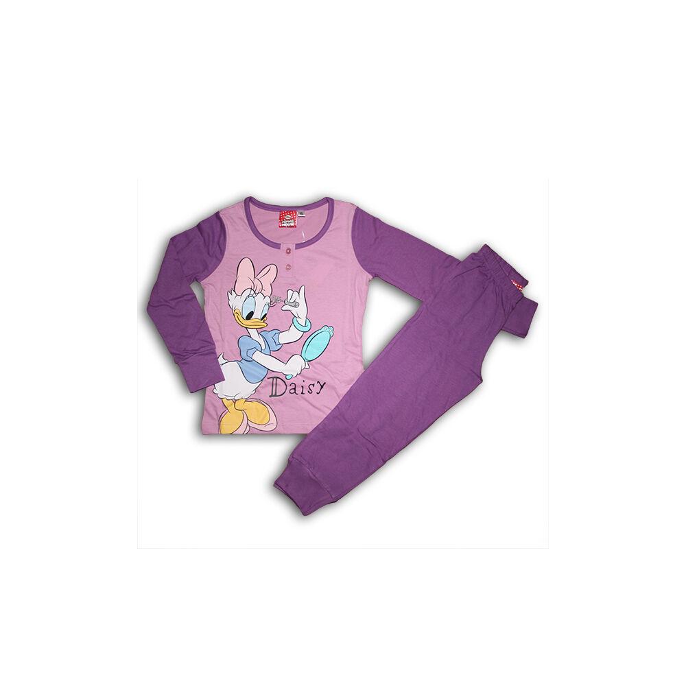 Daisy gyerek pizsama –  pamut pizsama – lila – 116