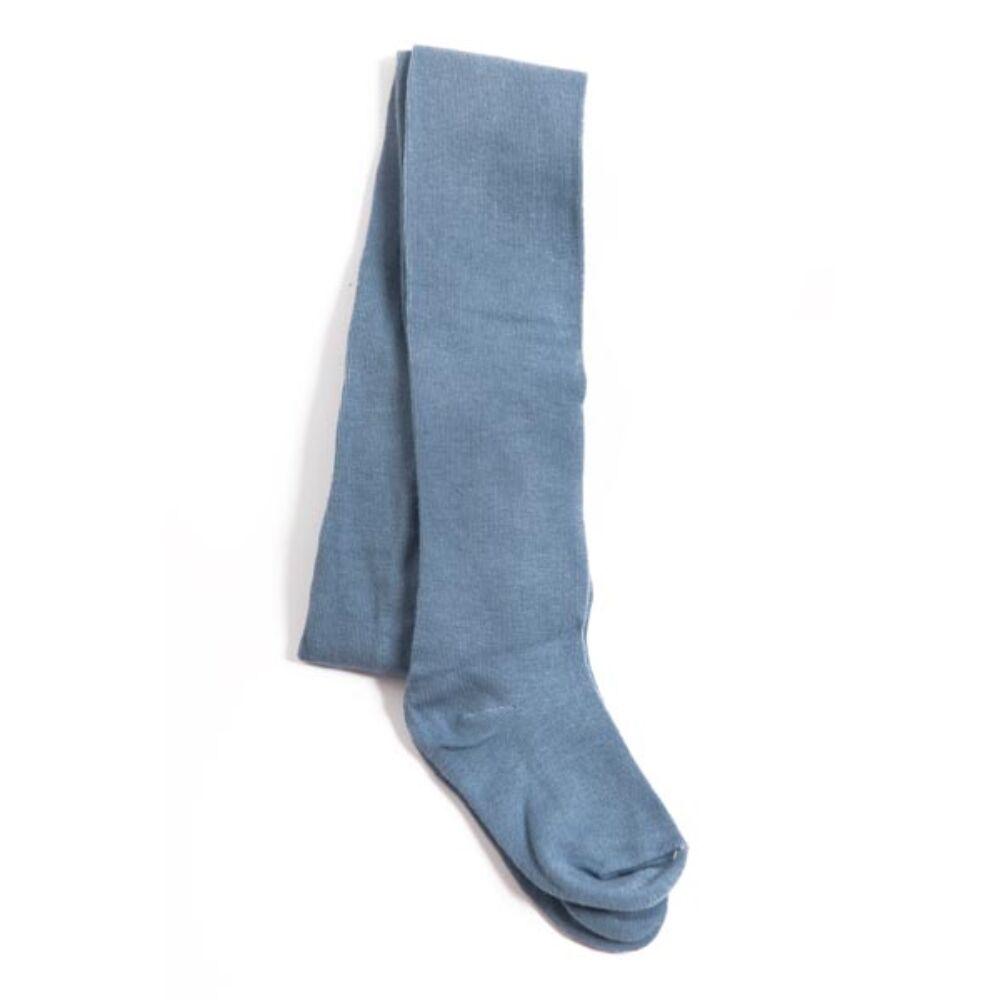 Baba egyszínű harisnyanadrág - pamut harisnyanadrág - 80-86 - kék - Evidence