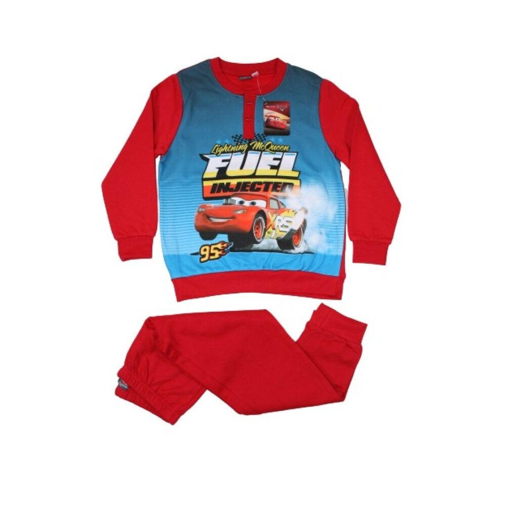Téli flanel gyerek pizsama - Verdák - piros - 122