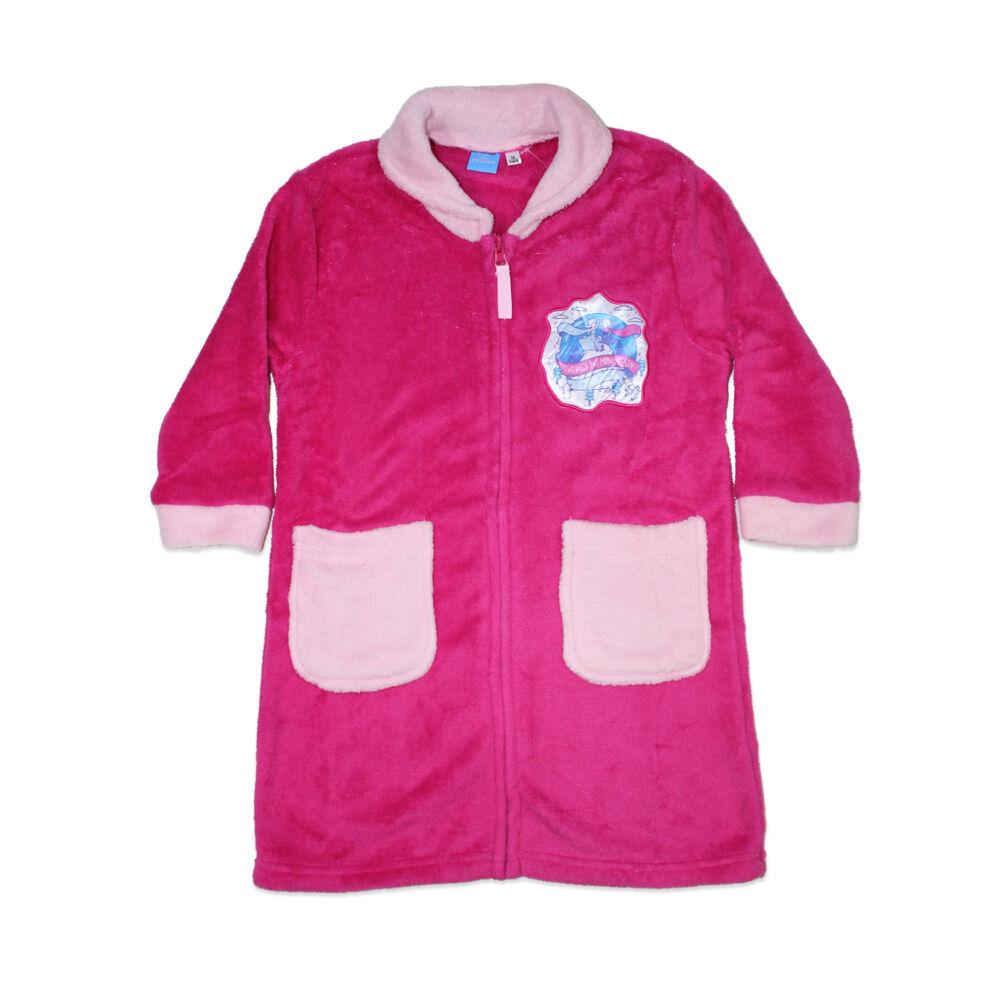 Gyerek coral köntös - Jégvarázs - pink - 122