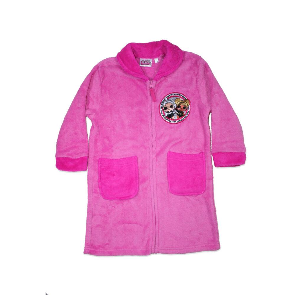 Gyerek coral köntös - LOL Baba - rózsaszín - 98