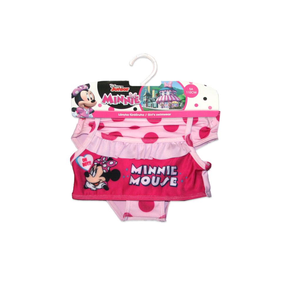 Disney Minnie egér kétrészes fürdőruha kislányoknak - pöttyös - világosrózsaszín - 98
