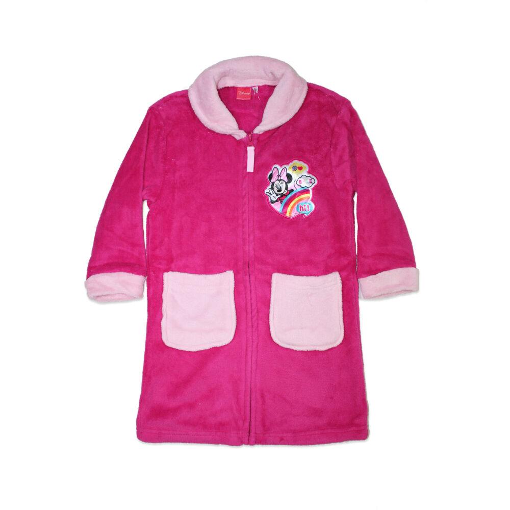 Gyerek coral köntös - Minnie egér - pink - 128