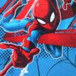 Pókember kisfiú interlock pizsama - hosszú ujjú téli pizsama - piros - 128