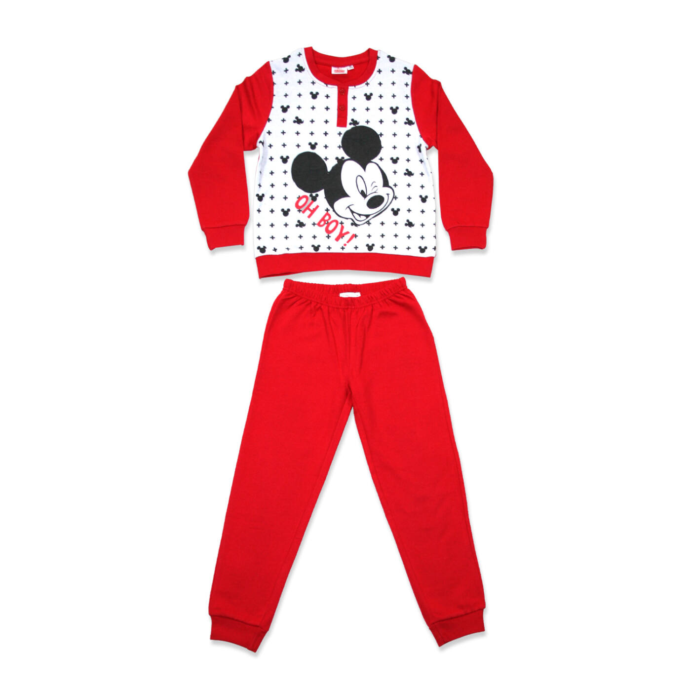 Téli flanel gyerek pizsama - Mickey egér