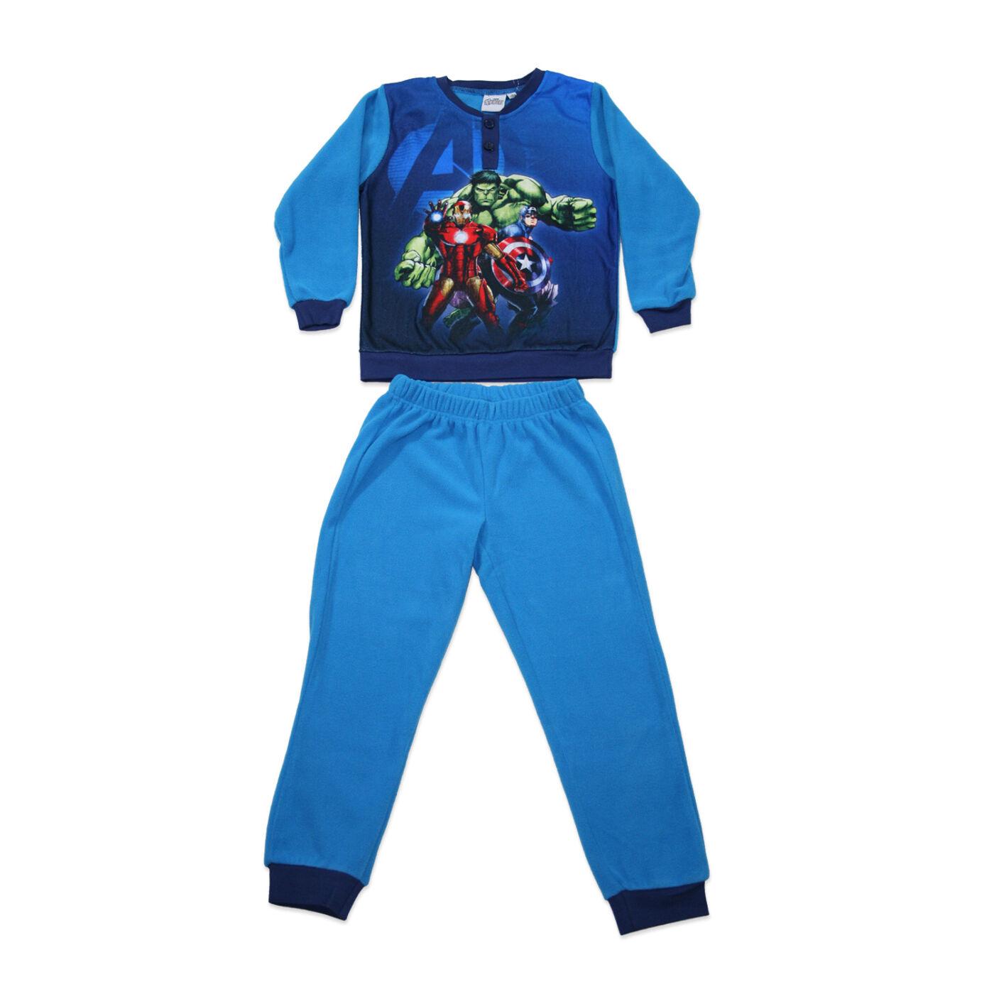 Gyerek téli polár pizsama - Bosszúállók