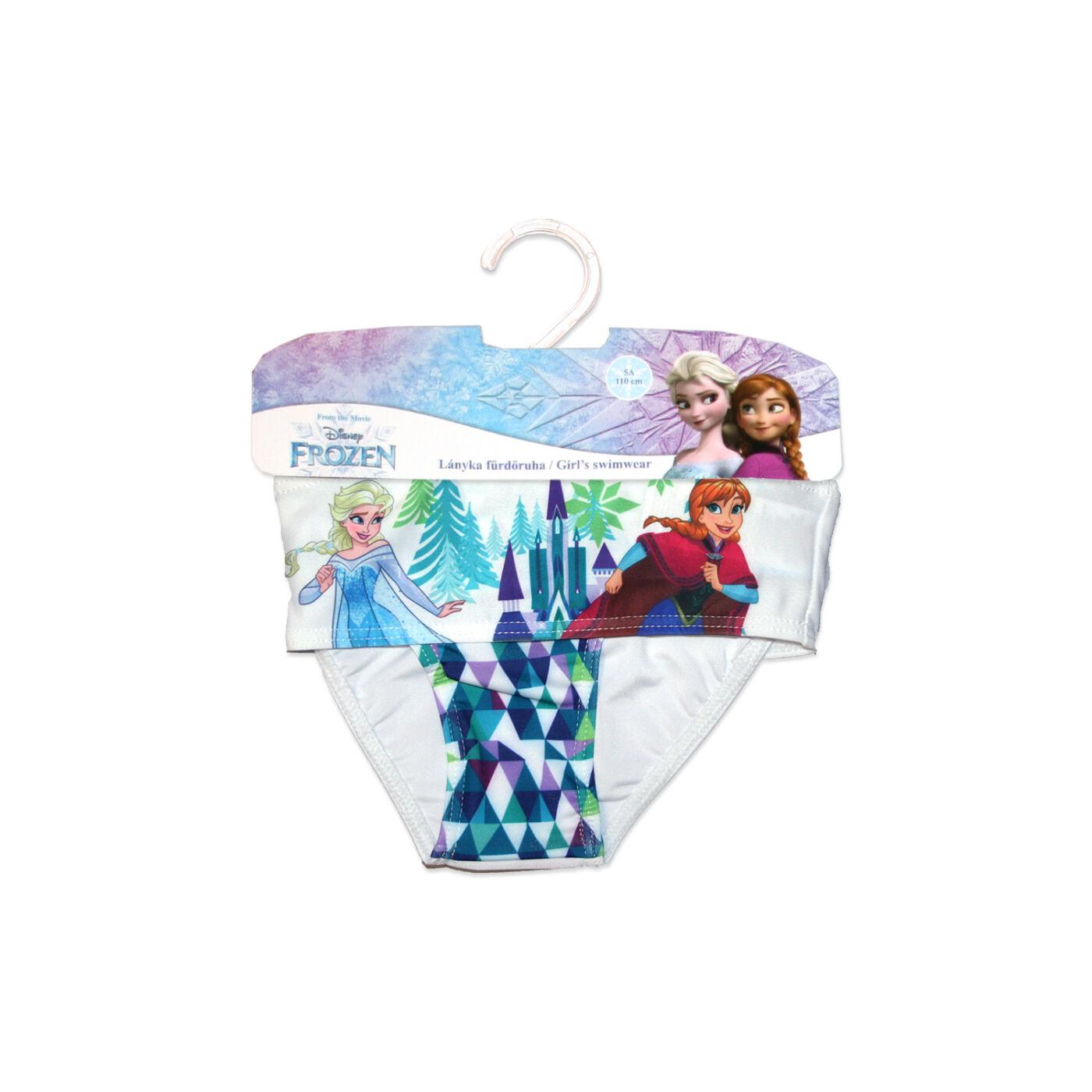Disney Jégvarázs kétrészes fürdőruha kislányoknak - káró mintával