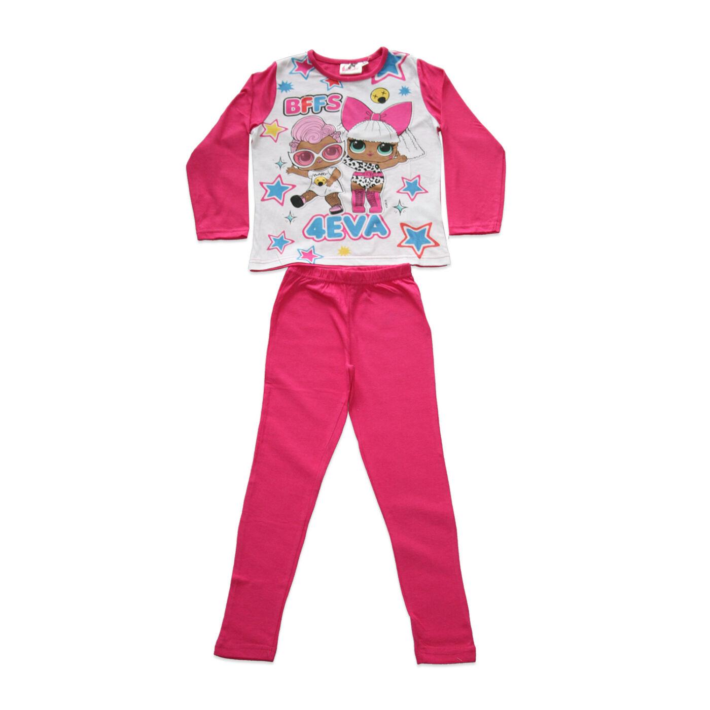 Hosszú vékony pamut gyerek pizsama - LOL Baba - Jersey