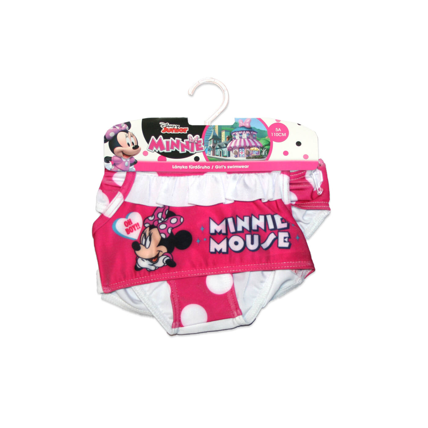 Disney Minnie egér kétrészes fürdőruha kislányoknak - pöttyös