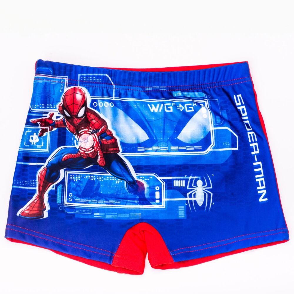 Pókember kisfiú fürdő alsó - fürdő boxer - piros - 98