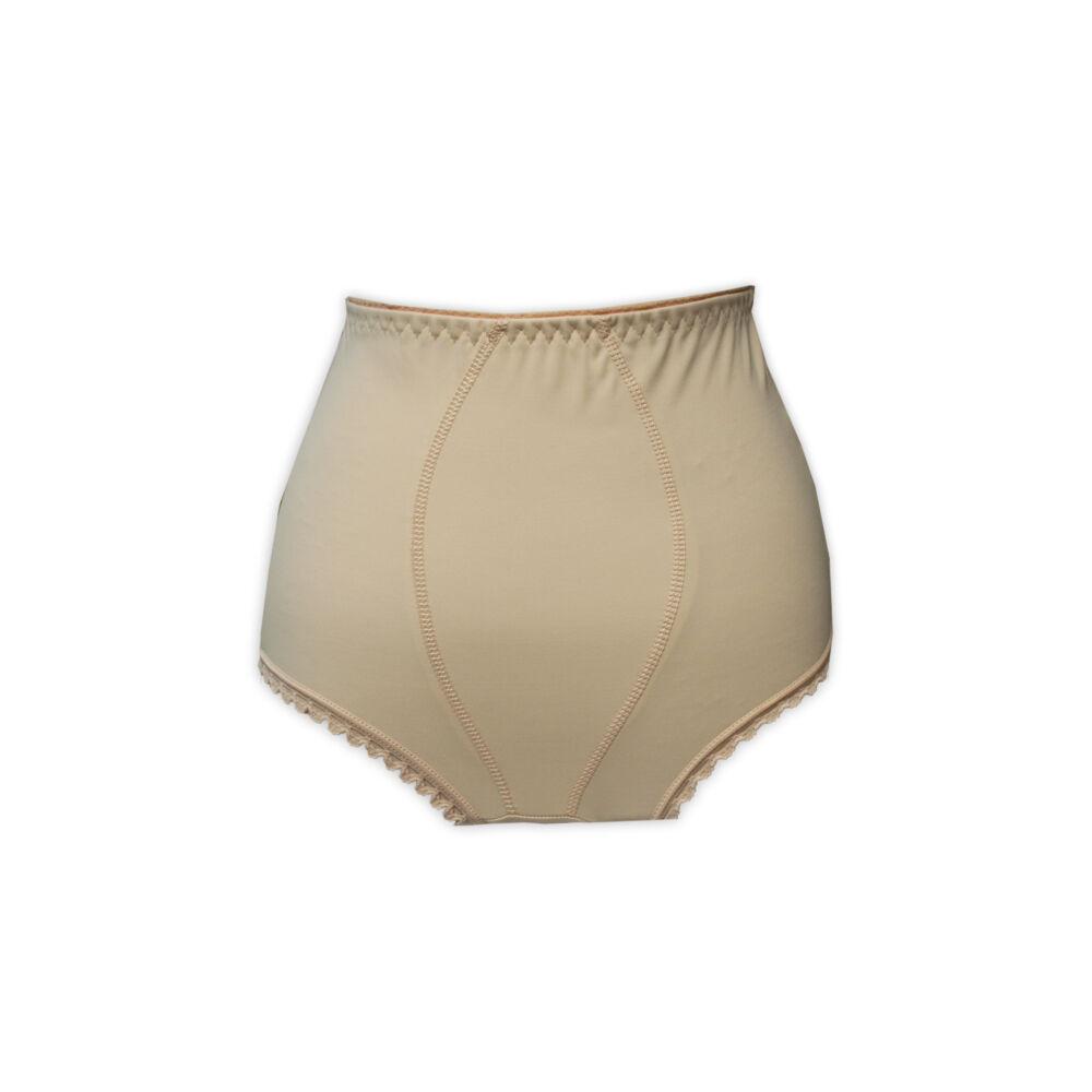 Női plus size alsó - alakformáló - elől extra tartással - beige - 48