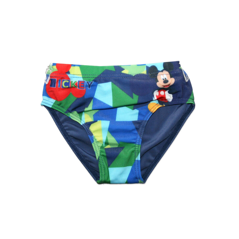 Disney Mickey egér fürdő alsó kisfiúknak - Mickey felirattal - sötétkék - 98