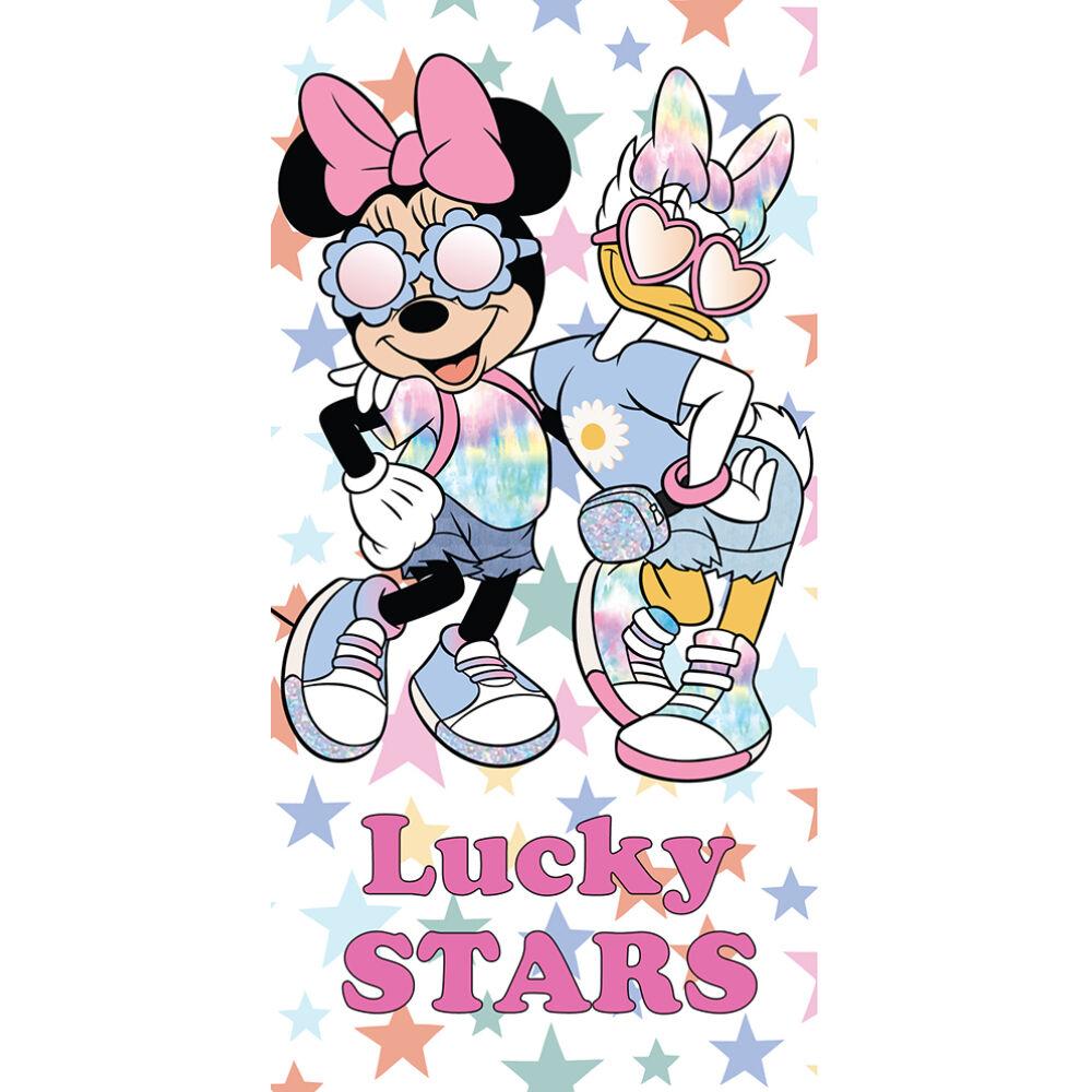 Disney Minnie egér gyerek strandtörölköző - 70x140 - fehér